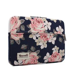 Canvaslife White Rose Laptop Sleeve 15 Inch Macbook Pro 15 C