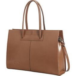 Women's Genuine Leather Laptop Tote